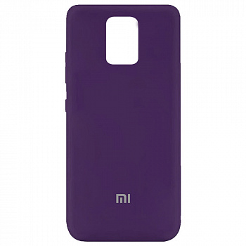 Чехол Silicone Cover My Color Full Protective для Xiaomi Redmi Note 9 (фиолетовый / purple)