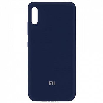 Чехол Silicone Cover My Color Full Protective для Xiaomi Redmi 9A (синий / midnight blue)