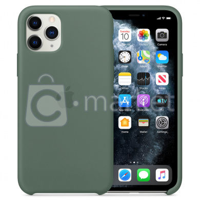 Чехол Apple Silicone Case для iPhone 11 Pro Max (зеленый)