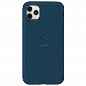Чехол Soft-touch logo series для Apple iPhone 11 Pro (синий / cobalt)