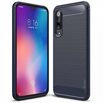 Чехол TPU iPaky Slim Series для Xiaomi Mi 9 Lite (синий)