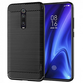 Чехол TPU iPaky Slim Series для Xiaomi Mi 9T / Mi 9T Pro (черный)
