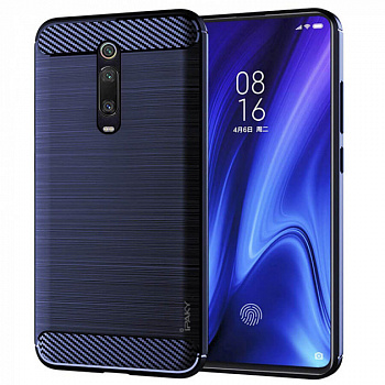 Чехол TPU iPaky Slim Series для Xiaomi Mi 9T / Mi 9T Pro (синий)