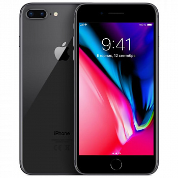 Б/у Apple iPhone 8 Plus 64GB (Space Gray) Grade A-