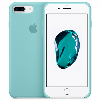 Чехол Silicone Case для Apple iPhone 7 Plus / 8 Plus (бирюзовый)