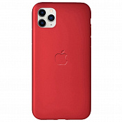 Чехол Soft-touch logo series для Apple iPhone 11 Pro (красный / dark red)