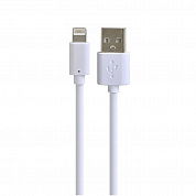 Кабель BoraSCO USB - Lightning 2A (белый)