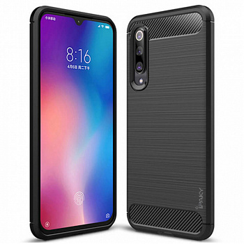 Чехол TPU iPaky Slim Series для Xiaomi Mi 9 Lite (черный)