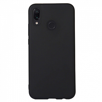 Чехол Silicone Case для Xiaomi Redmi Note 7 (черный)