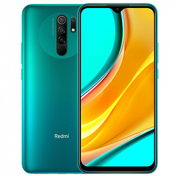 Xiaomi Redmi 9 4/64GB (Green) NFC UA