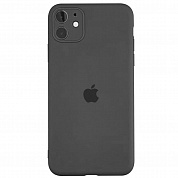 Чехол Slim Silicone Case Full Protective для Apple iPhone 11 (черный / black)