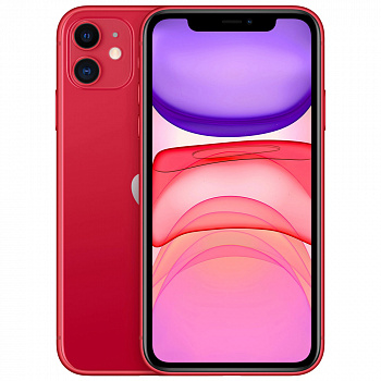 Б/у Apple iPhone 11 Dual Sim 64GB (Product Red) Grade A+