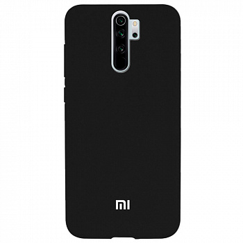 Чехол TPU Soft-touch logo series для Xiaomi Redmi Note 8 Pro (черный / black)