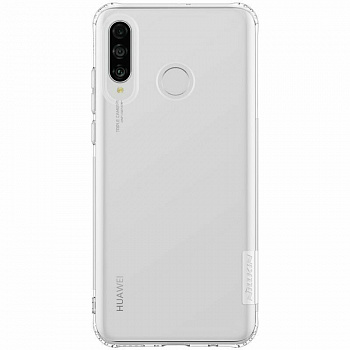 Чехол TPU Nillkin Nature Series для Huawei P30 lite (прозрачный)